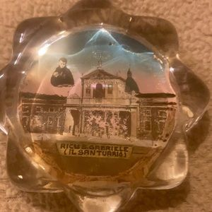 Italian paper weight vintage